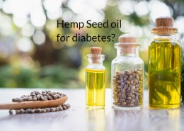 Is hemp seed oil good for diabetes and why?