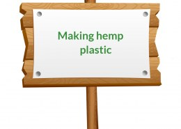 How to make hemp plastic?