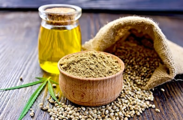 Use of hemp seeds to make hemp seed oil