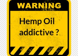 Is hemp oil addictive that it can be harmful to your body?