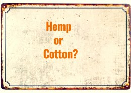 Why is hemp better than cotton?