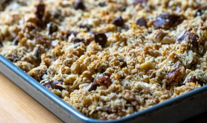 Is hemp granola easy to make, what are the steps?