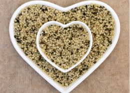 Are hemp hearts the same as hemp seeds?