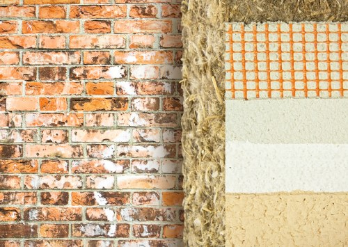 Can hemp be used with walling material?