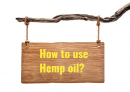 How to use hemp oil?