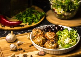 What's a great hemp seed meatballs recipe?