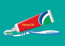 What does hemp seed oil do in toothpaste?