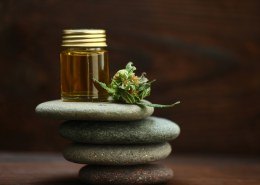 Can I heat my hemp massage oil before I rub it into my body?